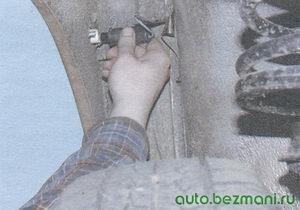 патрон с лампой повторителя указателя поворота