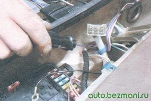 пластмассовый держатель проводов