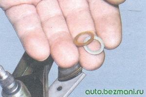 регулировочные шайбы валика механизма стеклоочистителя
