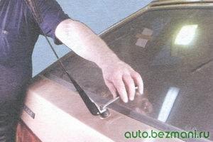 гайка рычага щетки стеклоочистителя