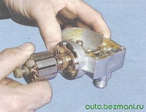 якорь двигателя стеклоочистителя