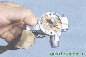 пружины щеток электродвигателя стеклоочистителя