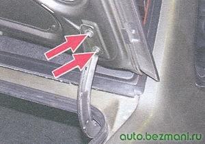 крепление крышки багажника ваз 21099