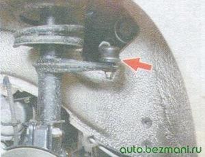 шаровой шарнир рулевой тяги ваз 2108, ваз 2109, ваз 21099