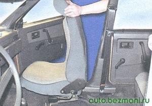переднее сиденье ваз 2108, ваз 2109, ваз 21099