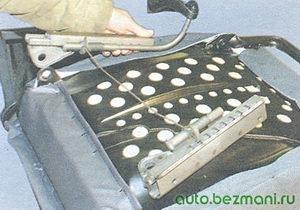 салазки - переднее сиденье