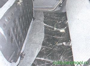 подушка заднего сиденья ваз 2108, ваз 2109, ваз 21099