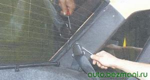декоративная накладка болта верхнего крепления ремня безопасности