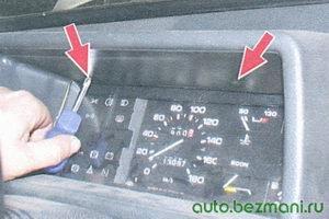 снятие низкой панели приборов ВАЗ-2109, ВАЗ-2108