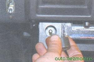 ручка переключателя вентилятора отопителя салона