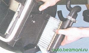 радиатор печки ваз 2108, ваз 2109, ваз 21099