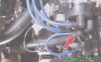 высоковольтный провод - крышка трамблёра