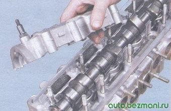корпус подшипников распредвала - головка блока цилиндров
