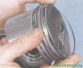 пружина маслосъемного кольца