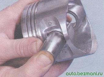 поршневой палец - поршень двигателя ваз