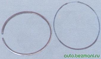 поршневое кольцо - расширитель маслосъемного кольца