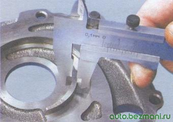 ширина сегмента корпуса масляного насоса