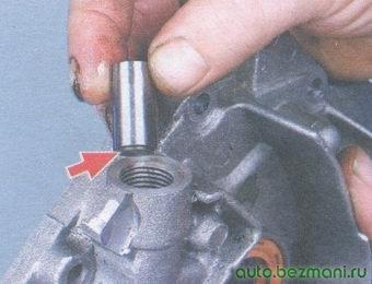 установка редукционного клапана