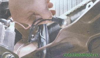 датчик включения электровентилятора радиатора