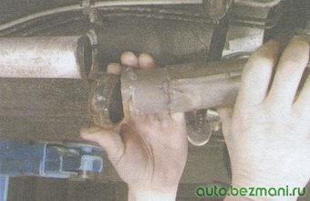 приемная труба глушителя - труба резонатора