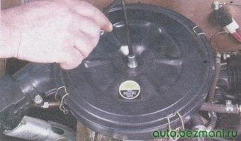 гайка крепления крышки воздушного фильтра