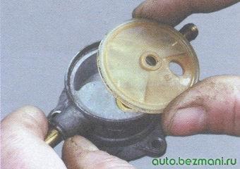 сетчатый фильтр бензонасоса