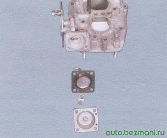 диафрагма - крышка пускового устройства
