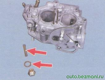 фильтр карбюратора - уплотнительное кольцо