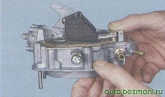 крышка карбюратора - поплавки