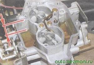 проверка уровня бензина в карбюраторе ваз 2108, ваз 2109, ваз 21099