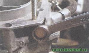 держатель фильтра тонкой очистки карбюратора