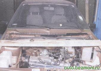 брус для вывешивания двигателя