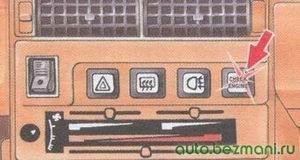 расположение лампы «check engine»