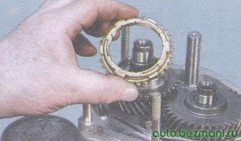 блокирующее кольцо синхронизатора 5-й передачи