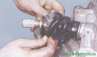 защитный чехол шарнира тяги привода переключения передач