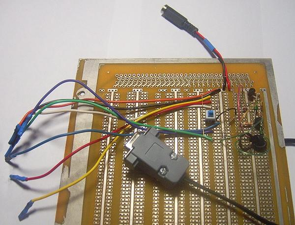 Собранный k-line адаптер